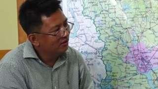 பிபிசி செய்தியாளர் ஆங் தூரா