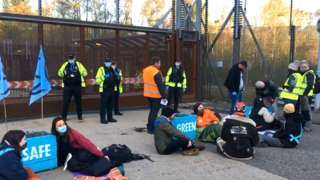 faslane protest