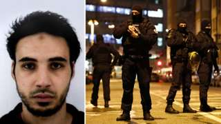 The man suspected of being behind the Strasbourg shootings, Cherif Chekatt