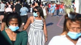 남아공에서 코로나19 확진자 수가 계속 증가하고 있다