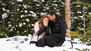 Nayel Nassar and Jennifer Gates for dia engagement