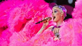 Katy Perry at Glastonbury