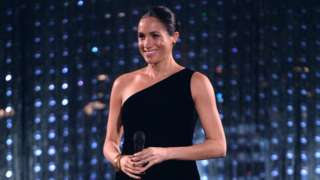 The Duchess of Sussex at the British Fashion Awards