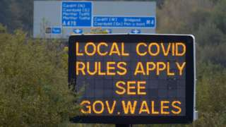 Sign on motorway
