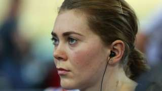 Former British cyclist Jess Varnish