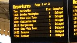 Timetable delays