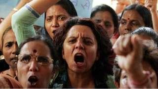 مظاهرات النساء في الهند احتجاجاً على التحرش والعنف الجنسي ضد النساء
