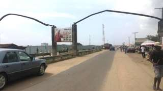 Road go Seme Border