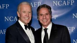 Joe Biden ve Antony Blinken