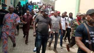 Sunday Igboho storms Ogun State: