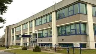 Cambridgeshire police headquarters in Huntingdon