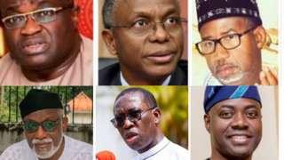 Governor Ifeanyi Okowa and Rotimi Akeredolu plus four oda Nigerian govnors test positive to coronavirus