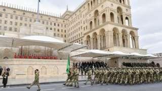 Azeri parade