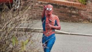 Stockport Spider Man