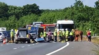 M27 crash