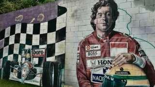 Ayrton Senna mural