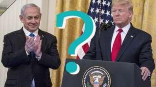 Donald Trump and Benjamin Netanyah