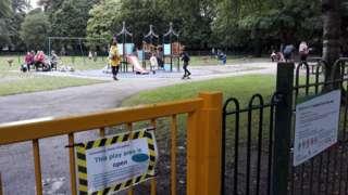 Longford Park in Stretford