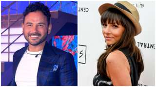 Ryan Thomas and Roxanne Pallett