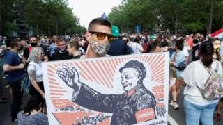 布達佩斯抗議