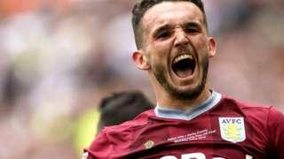 Aston Villa midfielder John McGinn