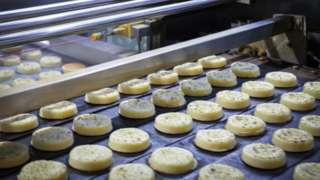 crumpets in production