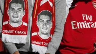 Arsenal scarf