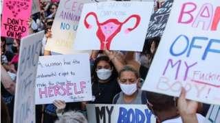 протести проти заборони абортів пройшли по всій країні