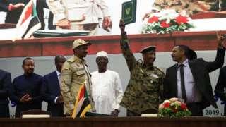 Sudan army and civilians don sign landmark deal
