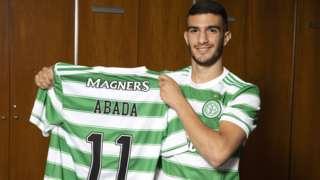 Liel Abada shows off his new Celtic colours