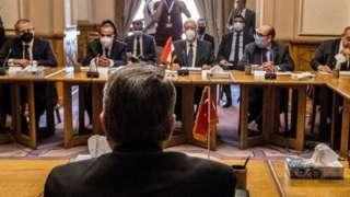 Türk ve Mısırlı diplomatlar Mayıs'ta Kahire'de görüşmüştü.