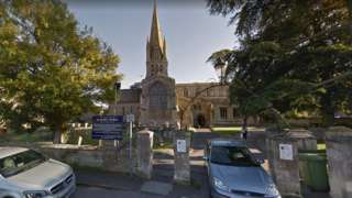 St Mary's Church in Witney