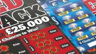 Channel Islands Lottery scratch card