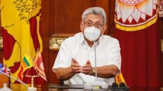President Gotabhaya Rajapaksa