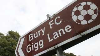Bury FC sign