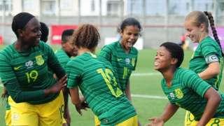 SA's Under-17 women's team