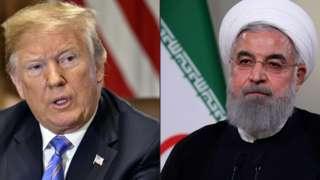 Trump ve Ruhani