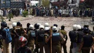 पाकिस्तान, हिंसक संघर्ष
