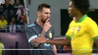 Lionel Messi ati Willian