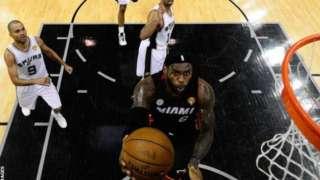 James aliisidaia Miami Heats kushinda mataji manne ya NBA