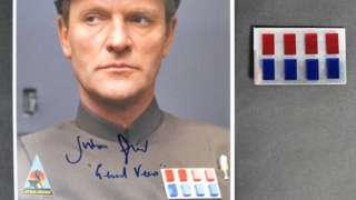 Julian Glover as General Veers in Star Wars The Empire Strikes Back