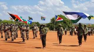 Abasirikare bo muri Angola, Botswana, Lesotho, Mozambique, Afrika y'epfo na Tanzania nibo bari muri nteko za gisirikare za Sadc