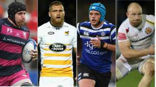 ben Morgan, Brad Shields, Zach Mercer and Matt Kvesic