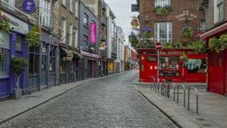 The Temple Bar area of Dublin