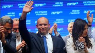 Naftali Bennett support become crucial for di formation of a coalition government after the last election