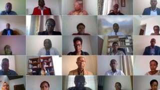 Inama y'inteko ishingamategeko y'u Rwanda ku itariki ya 12/2/2021