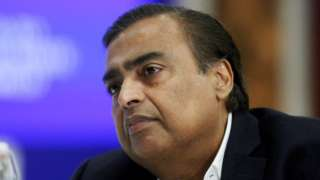 Managing Director of Reliance Industries, Mukesh Ambani.