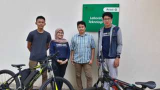 Unpad, sepeda listrik, tenaga matahari