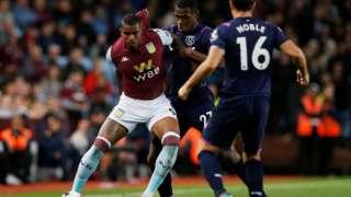 Aston Villa v West Ham United