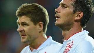 Steven Gerrard (left) and Frank Lampard